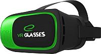 Шлем виртуальной реальности Esperanza EGV300 (черный/зеленый) -