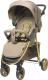 Детская прогулочная коляска 4Baby Rapid Premium (золото) -