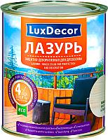 Лазурь для древесины LuxDecor Красное дерево (750мл) -