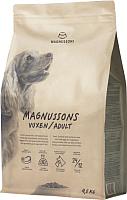 Корм для собак Magnusson Adult Meat&Biscuit / F210450 (4.5кг) -