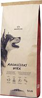 Корм для собак Magnusson Meat & Biscuit Work / F23140 (14кг) -