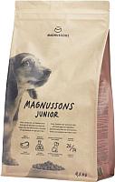 Корм для собак Magnusson Junior Meat&Biscuit / F240450 (4.5кг) -