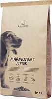 Корм для собак Magnusson Junior Meat&Biscuit / F241000 (10кг) -