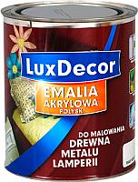 Эмаль LuxDecor Красные кораллы (750мл, глянец) -