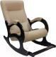 Кресло-качалка Calviano Бастион 2 с подножкой (рогожка United 3) -