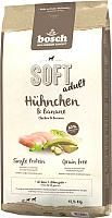 Корм для собак Bosch Petfood Soft Adult Chicken&Banana (12.5кг) -