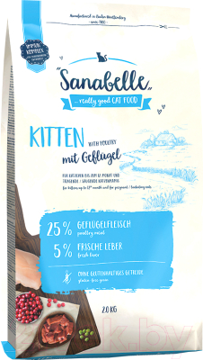 Корм для кошек Bosch Petfood Sanabelle Kitten (2кг)