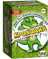 Настольная игра Topgame Крокодил 100 карточек / 01229 -
