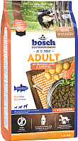 Корм для собак Bosch Petfood Adult Salmon&Potato (1кг) -
