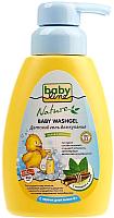 Гель для душа детский Babyline Nature с мятой и солодкой для детей с первых дней жизни DN 71 (260мл) -