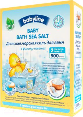 Соль для ванн детская Babyline DN 83 натуральная недорого