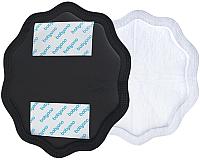 Прокладки для бюстгальтера BabyOno Natural Nursin 298/02 (24шт, черный) -