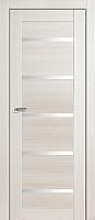 Дверь межкомнатная ProfilDoors 7X 80x200 (эшвайт мелинга/стекло матовое) -