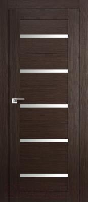 Дверь межкомнатная ProfilDoors 7X 80x200 (венге мелинга/стекло матовое)