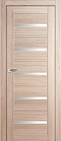 Дверь межкомнатная ProfilDoors 7X 60x200 (капучино мелинга/стекло матовое) -