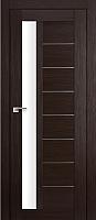Дверь межкомнатная ProfilDoors 37X 60x200 (венге мелинга/стекло матовое) -
