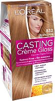 Крем-краска для волос L'Oreal Paris Casting Creme Gloss 832 (крем-брюле) -