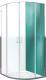 Душевой уголок Roltechnik Lega Line LLR2/80x80 (хром/прозрачное стекло) -