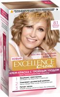 Крем-краска для волос L'Oreal Paris Color Excellence 8.1 (светло-русый пепельный) -
