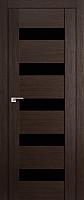Дверь межкомнатная ProfilDoors 29X 80x200 (венге мелинга/триплекс черный) -