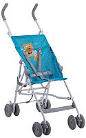 Детская прогулочная коляска Lorelli Flash Blue Hello Bear / 10020431718 -