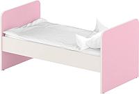 Односпальная кровать Славянская столица ДУ-КО12 (белый/розовый) -