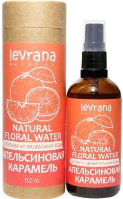 Вода для лица Levrana Натуральная флоральная апельсиновая карамель (100мл)