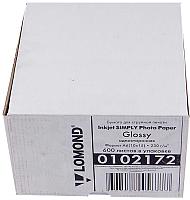 Фотобумага Lomond 10x15см, 230 г/м, 600 л. / 0102172 (глянцевая) -