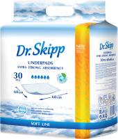 Набор пеленок одноразовых Dr.Skipp С суперабсорбентом 60x60 (30шт) -