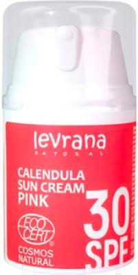 Крем солнцезащитный Levrana Календула SPF30 Pink (50мл)