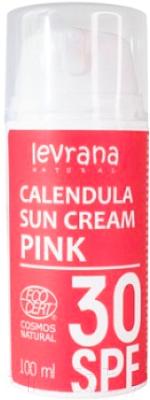 Крем солнцезащитный Levrana Календула SPF30 Pink (100мл)