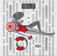 Напольные весы электронные Holt HT-BS-011 (лето) -