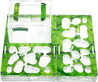 Муравьиная ферма AntHouse Bio L (Green) -