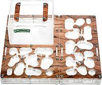 Муравьиная ферма AntHouse Bio L (Wood) -
