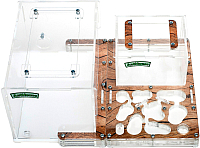 Муравьиная ферма AntHouse Bio X (Wood) -
