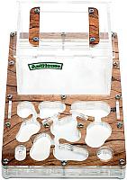 Муравьиная ферма AntHouse Bio стартовый комплект (Wood) -