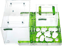 Муравьиная ферма AntHouse Bio X стартовый комплект (Green) -