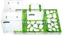 Муравьиная ферма AntHouse Bio XL стартовый комплект (Green) -