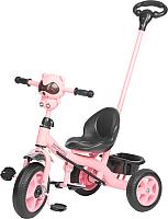Детский велосипед с ручкой Sundays SJ-SS-28 (розовый) -