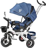 Детский велосипед с ручкой Sundays SJ-BT-39 (синий) -
