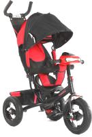 Детский велосипед с ручкой Sundays SJ-BT-92 (красный) -