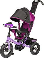 Детский велосипед с ручкой Sundays SJ-BT-92 (фиолетовый) -