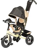 Детский велосипед с ручкой Sundays SJ-BT-92 (бежевый) -