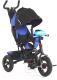 Детский велосипед с ручкой Sundays SJ-BT-92 (темно-синий) -