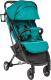 Детская прогулочная коляска Sundays Baby S600 Plus (черная база, бирюзовый) -