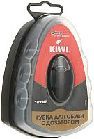 Губка для обуви Kiwi Express Shine с дозатором (черный) -