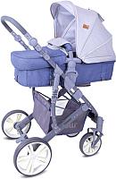 Детская универсальная коляска Lorelli Verso 2 в 1 Grey / 10021361960 -