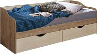 Кровать-тахта Лида-Stan СВ01-040 (сосна натуральная/сосна каньон) -