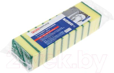 Набор губок для мытья посуды PROservice Standard 15200100 (10шт)