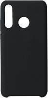 Чехол-накладка Volare Rosso Suede для P30 Lite (черный) -